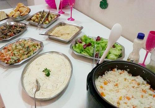 Buffet em Domicílio para SP alomoço e jantar