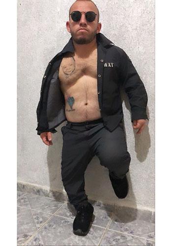 Anão Gogo Boy Stripper Pitoco